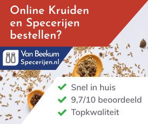 Vanbeekumspecerijen.nl cashback