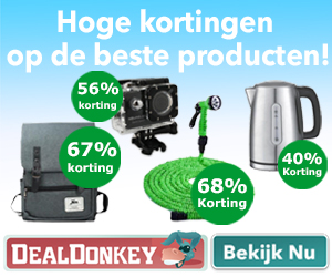Dealdonkey.nl cashback