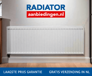 Radiatoraanbiedingen.nl cashback