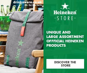 Heineken Merch Store cashback