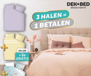 Dekbed discounter.nl cashback