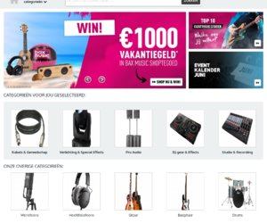 Bax-shop.nl cashback