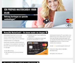 Money2Go Card cashback
