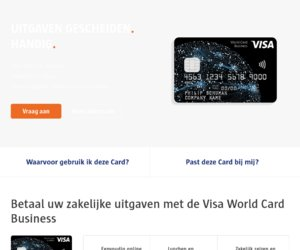 World Card Business.nl cashback
