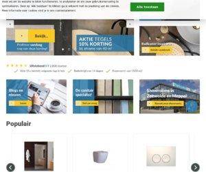 Tegeldepot.nl cashback