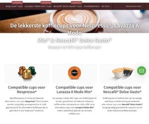Koffiecupster.nl cashback