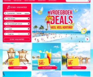Vakantieaanbiedingen.nl cashback