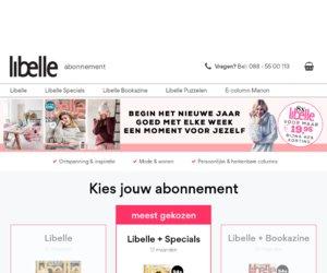 Libelle Kortingscampagne cashback