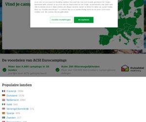 Eurocampings.nl cashback