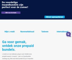 Lmobimobile.nl cashback