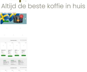 Kortingopjekoffie.nl cashback