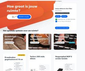 Vloerverwarmingzelfleggen.nl cashback