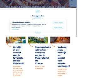 Plopsahotel.be/nl cashback