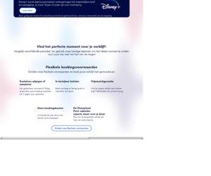 Disneyland Parijs cashback