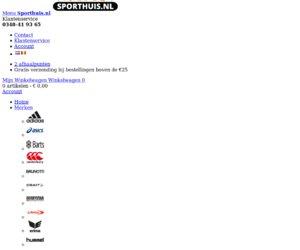 Sporthuis.nl cashback