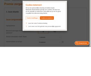 Nationale Nederlanden cashback
