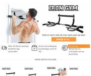 Irongym.nl cashback