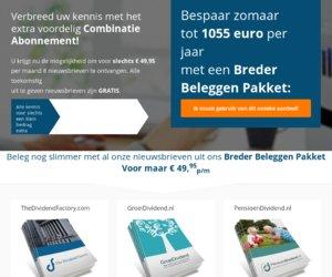 BeleggersPlaats.nl cashback