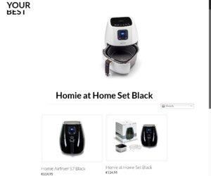 Homieathome.com cashback