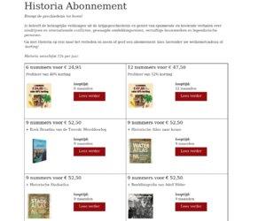 Historia cashback
