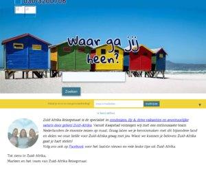 ZuidAfrika reis op maat.nl cashback