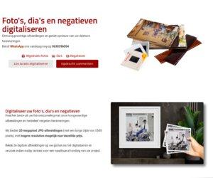 Fotodigitaliseren.nl cashback