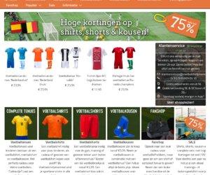 Voetbalshirtjes-winkel.nl cashback