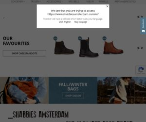 Shabbies Amsterdam cashback