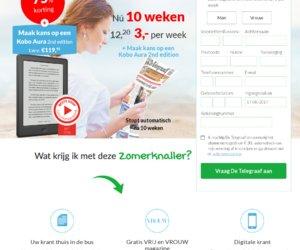 Telegraaf - Koningsdag cashback