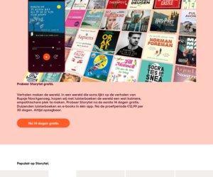 Storytel.nl cashback