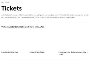 I Amsterdam cashback