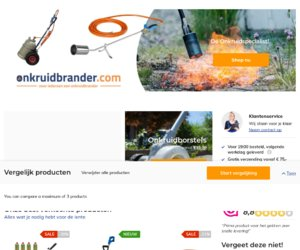Onkruidbrander.com cashback