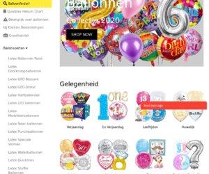 Ballonartikelen.nl - Globos cashback
