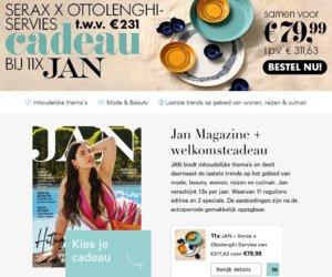 Janmagazine.nl cashback
