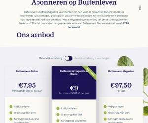 Buitenleven.nl cashback