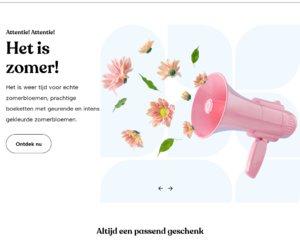 deBloemist.nl cashback