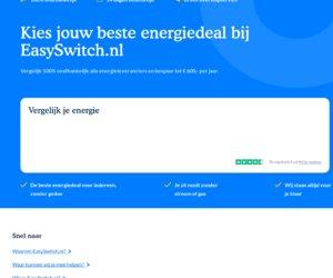 Easyswitch.nl cashback