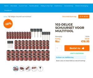 ClickToBuy.nl cashback