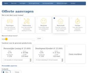 De Leningmakelaar.nl cashback