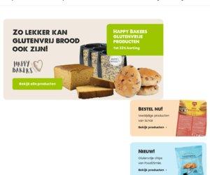 Winkel glutenvrij.nl cashback
