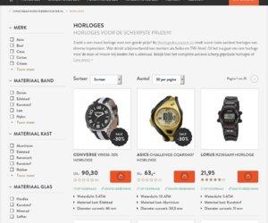Horloge-discounter.nl cashback