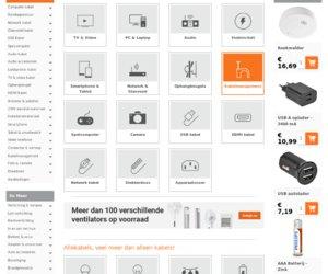 Allekabels.nl cashback