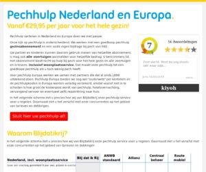 Blijdatikrij.nl cashback