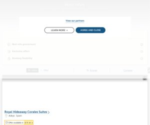 Barceló Hotels & Resorts cashback