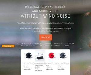 Windblocker cashback