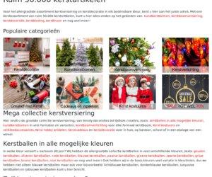 Bellatiokerstversiering.nl cashback
