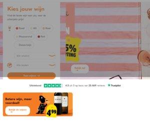 Wijnvoordeel.nl cashback