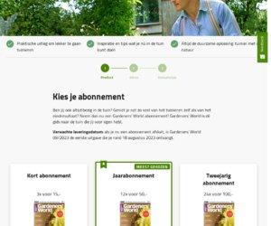 Gardeners' World Magazine cashback