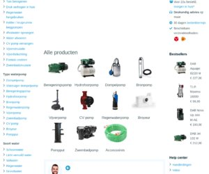 Waterpompshop cashback