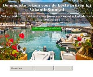 Vakantiestunt.nl cashback